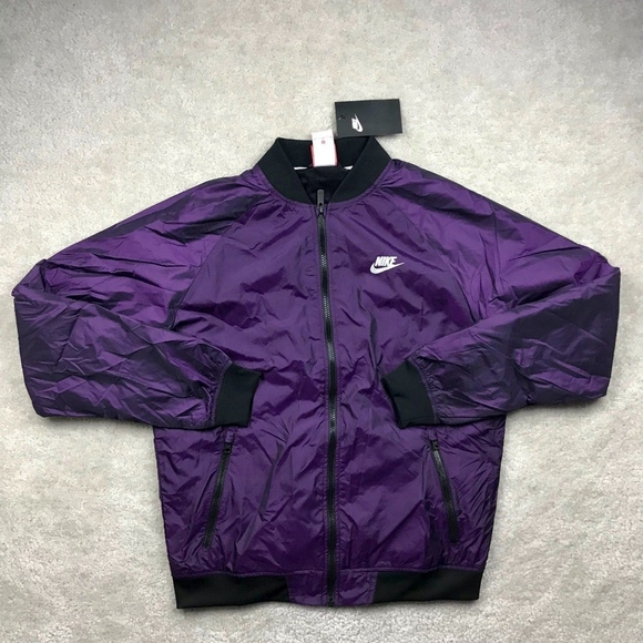 75273d80ce Nike Windrunner Varsity Jacket Vivid Purple